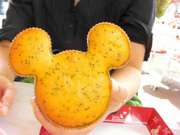 ミッキー型レモンマフィン