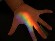 てのひらの虹