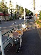 真夏のバス停