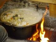 大鍋の豚汁