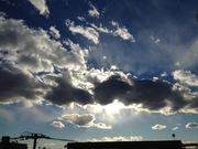 横たわる雲