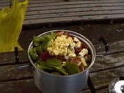 キャンプの晩飯(ポトフ)