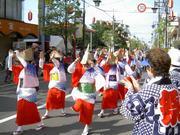 赤塚縁日の阿波踊り