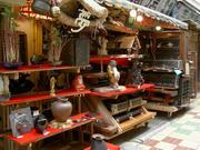 古道具屋の店先