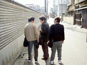 京都西陣ちかくの路地で
