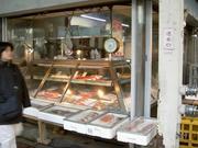 魚屋の店先