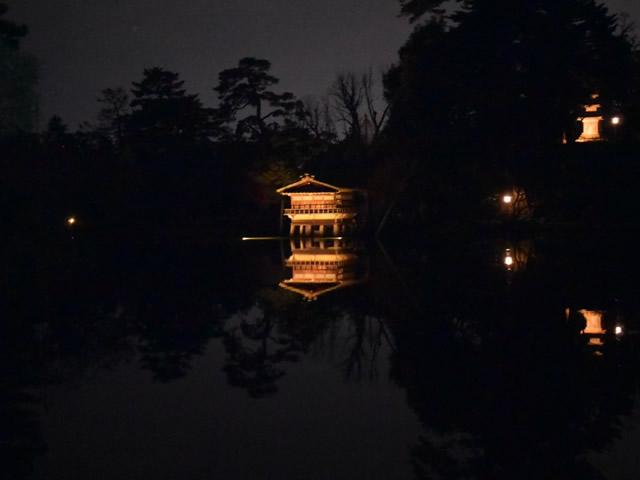 夜の兼六園