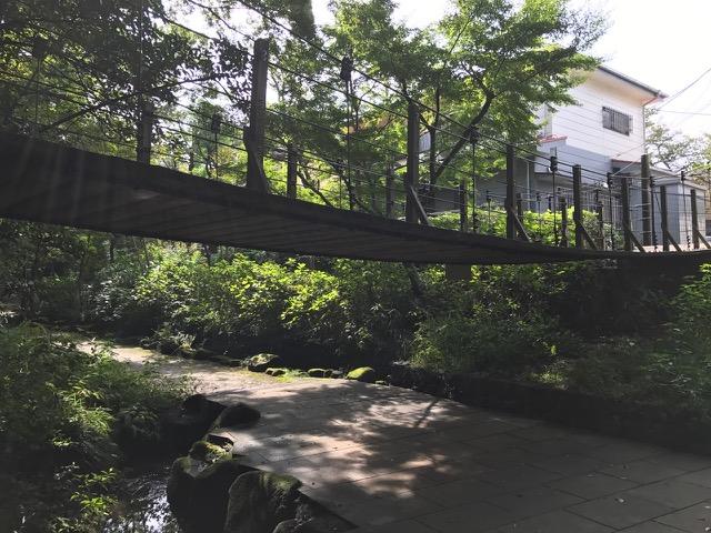 小さな吊り橋