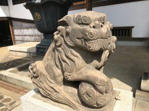 静勝寺の狛犬