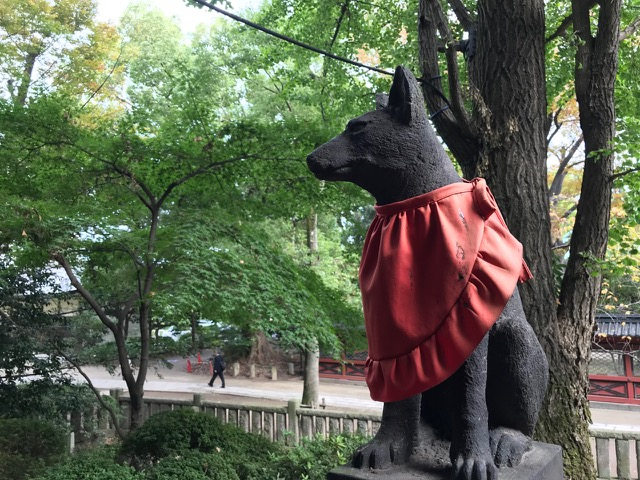 根津神社の狐