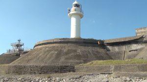 灯台に変はる砲台文化の日